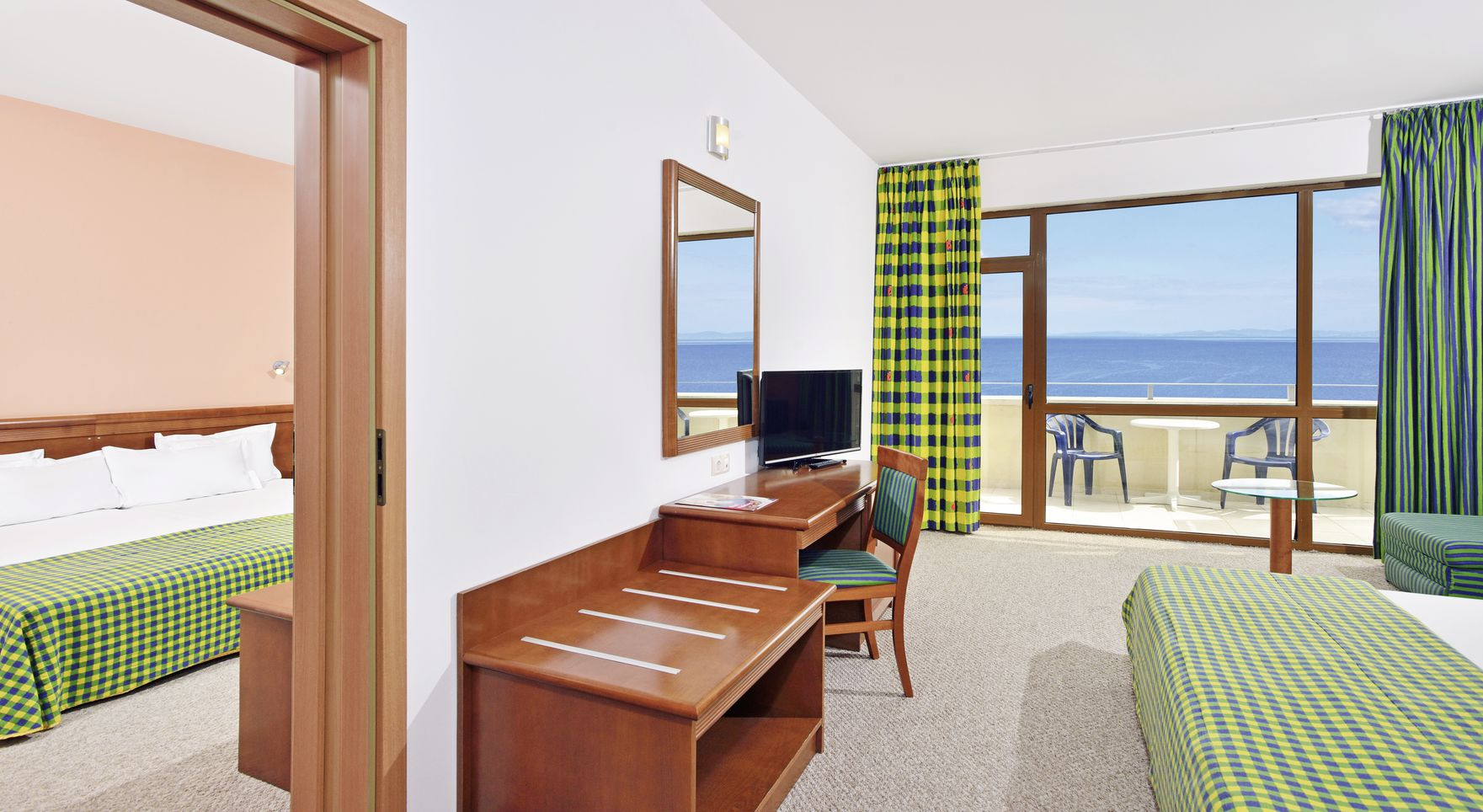 Sol Nessebar Bay - chambre double vue arrière pays