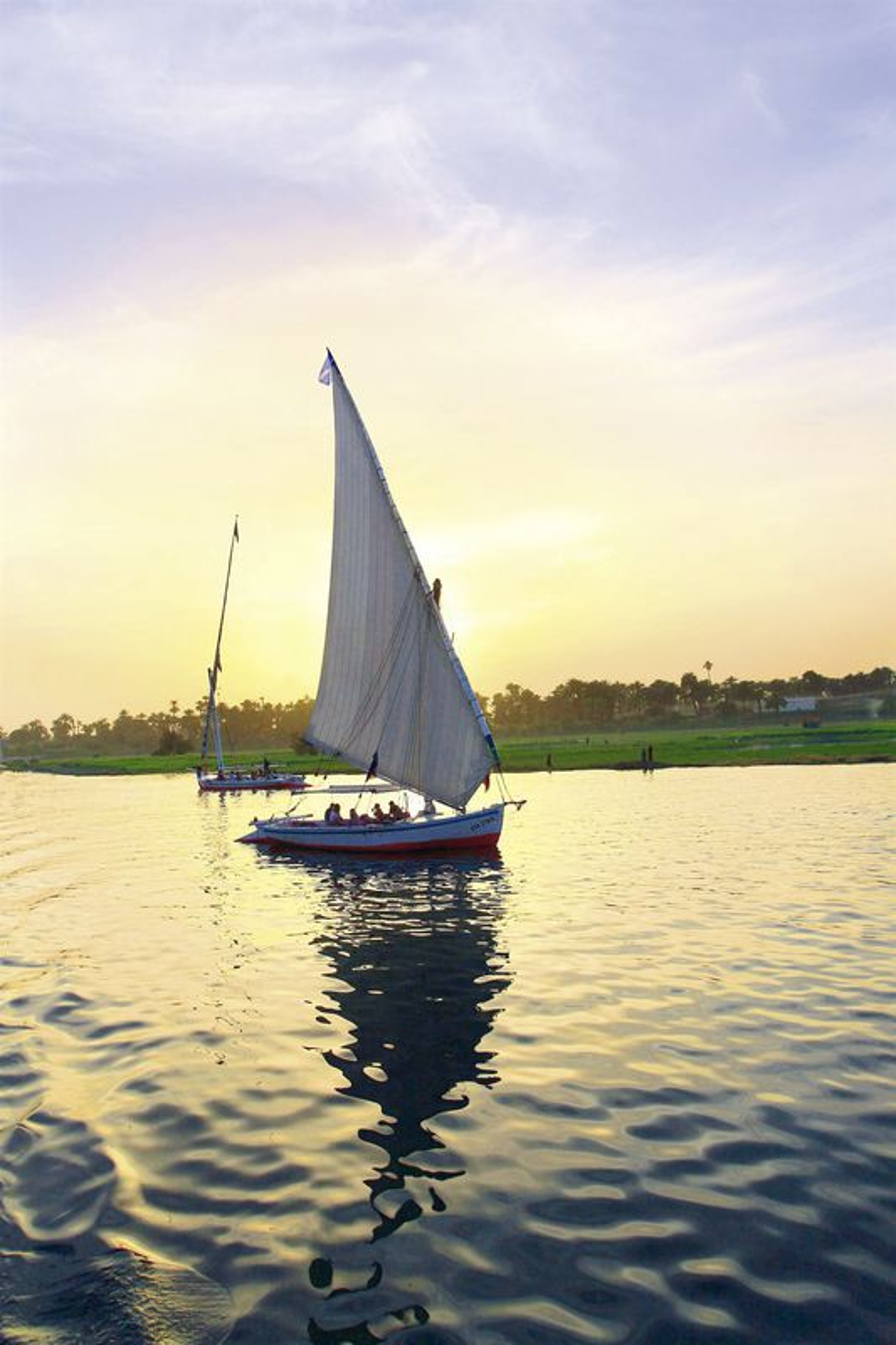 Felukke auf dem Nil