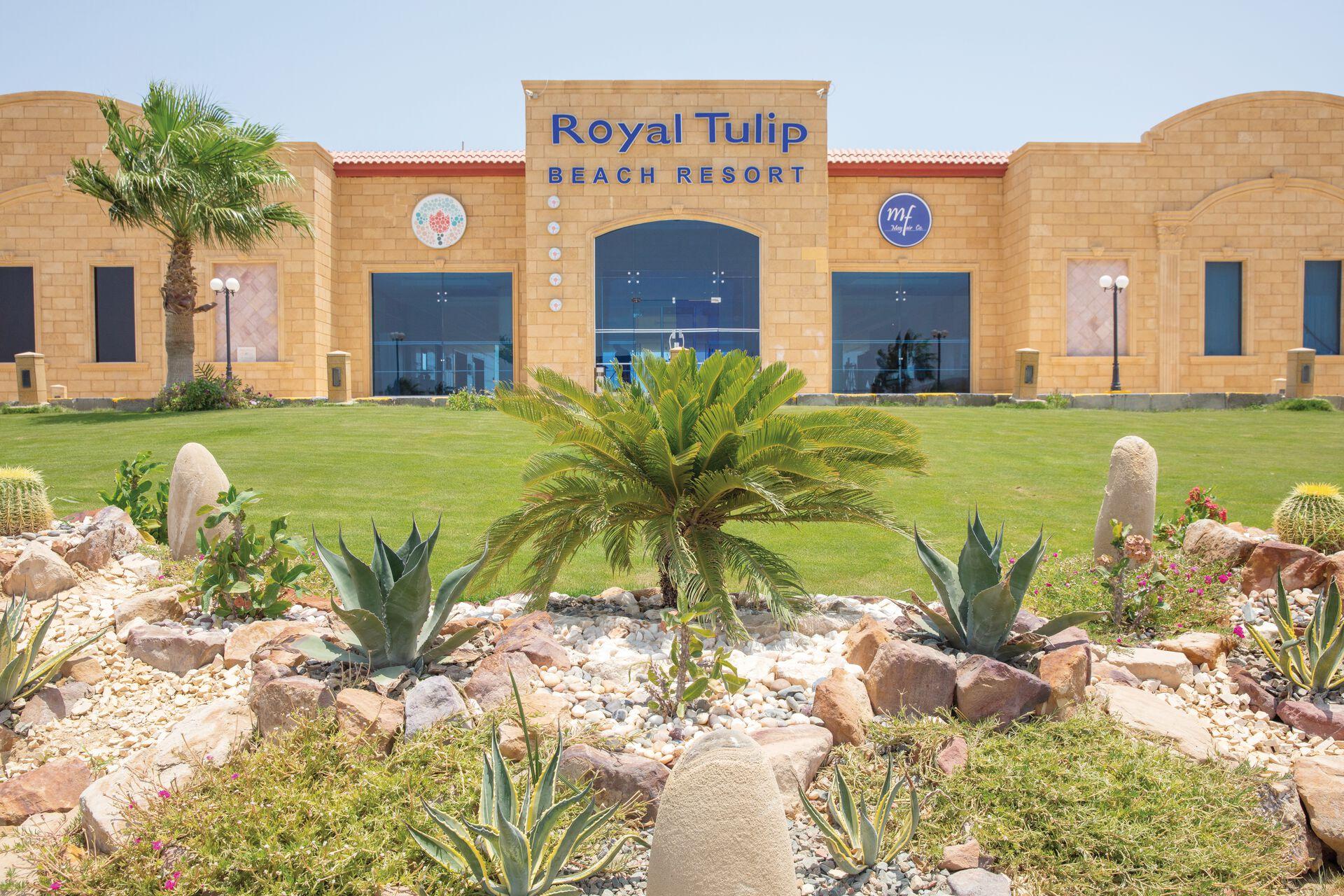 Herzlich Willkommen in Ihrem 5* Hotel Royal Tulip Beach Resort