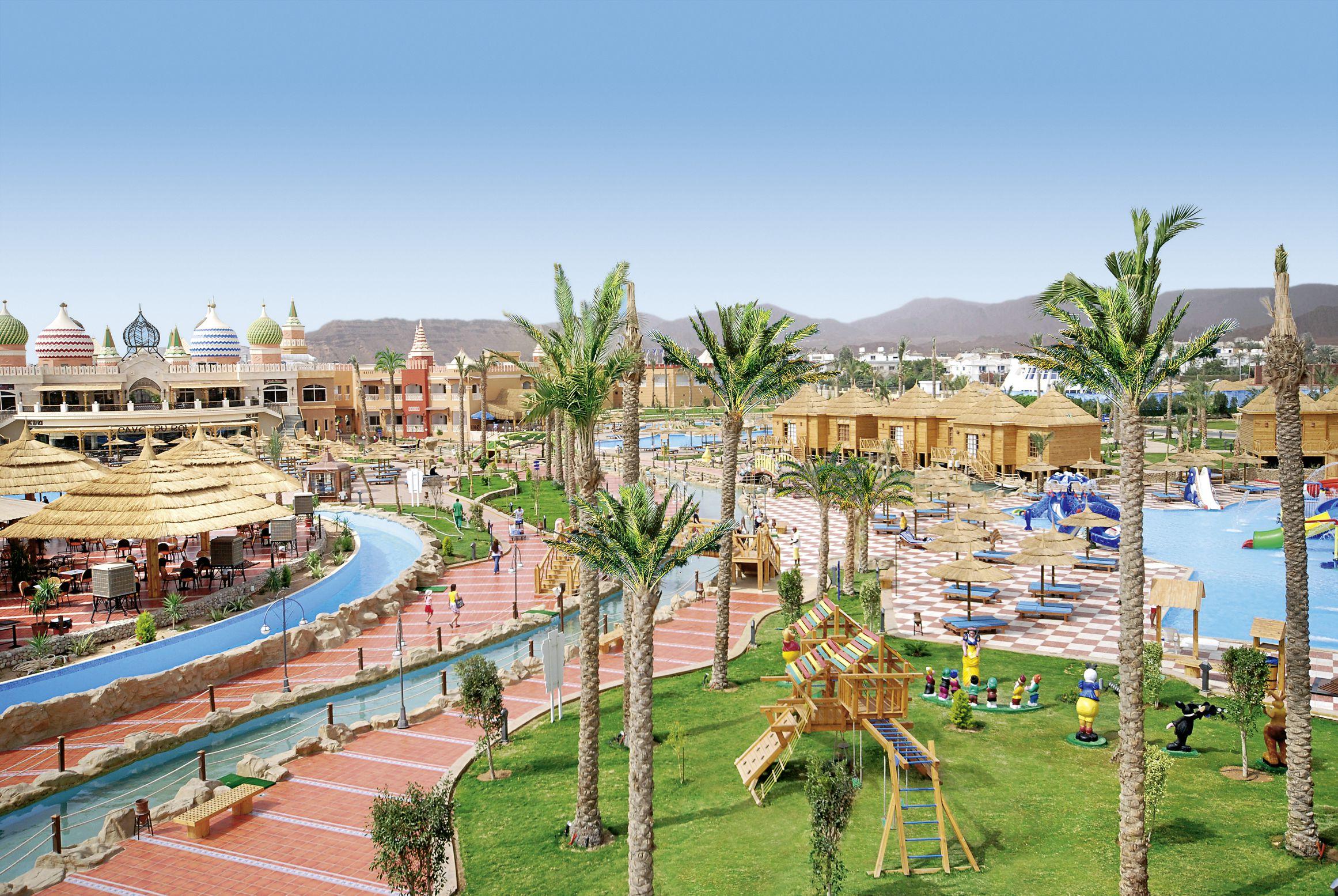Aqua Blu Sharm Resort - chambre double