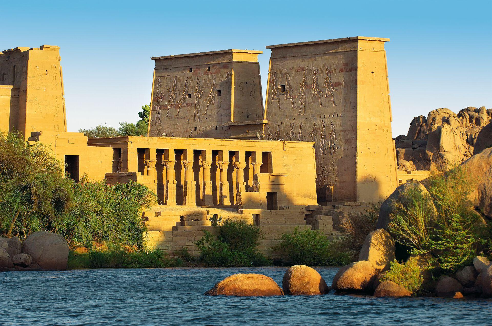 Philae Tempel am Nil