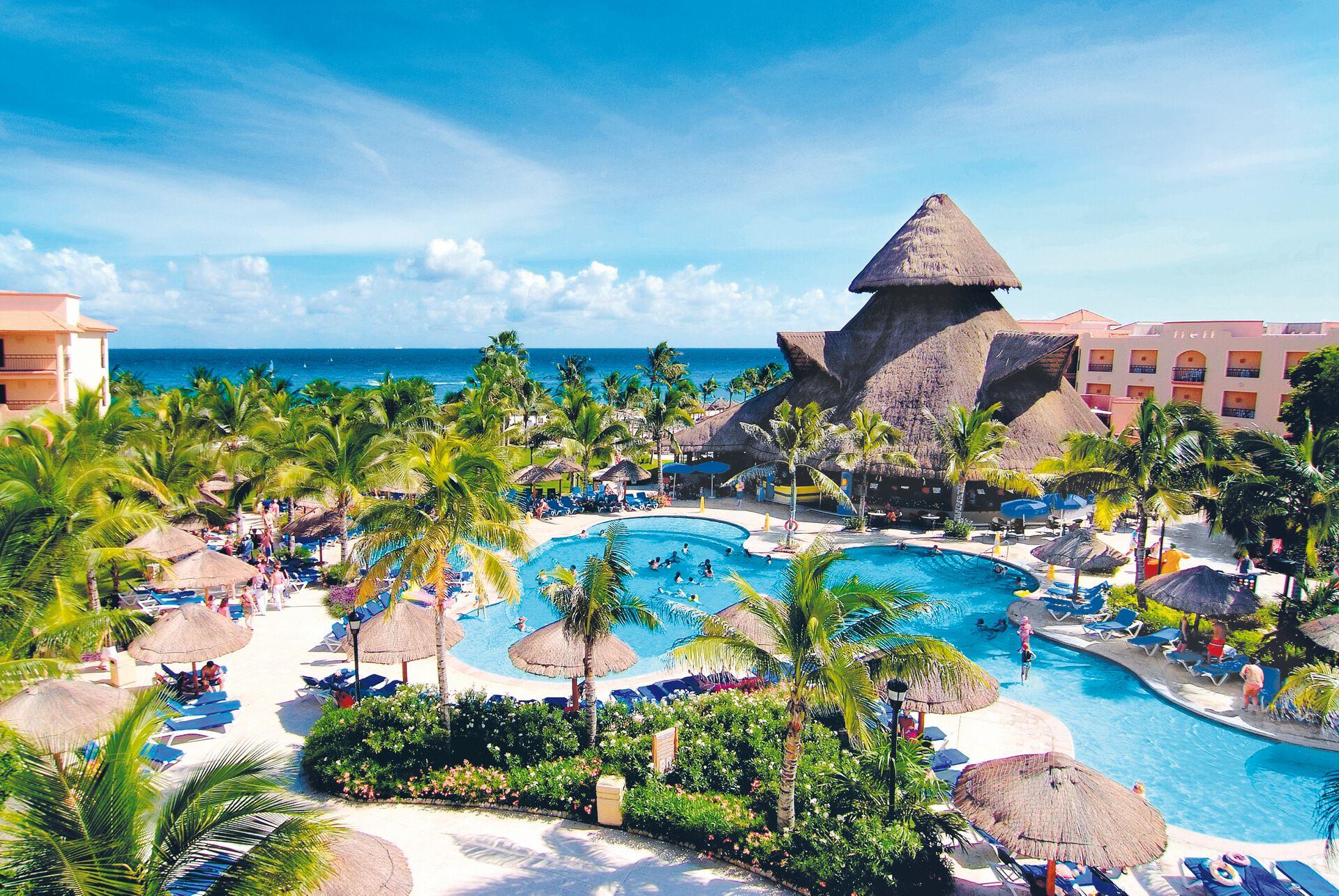 Hôtel sandos playacar beach resort 5*