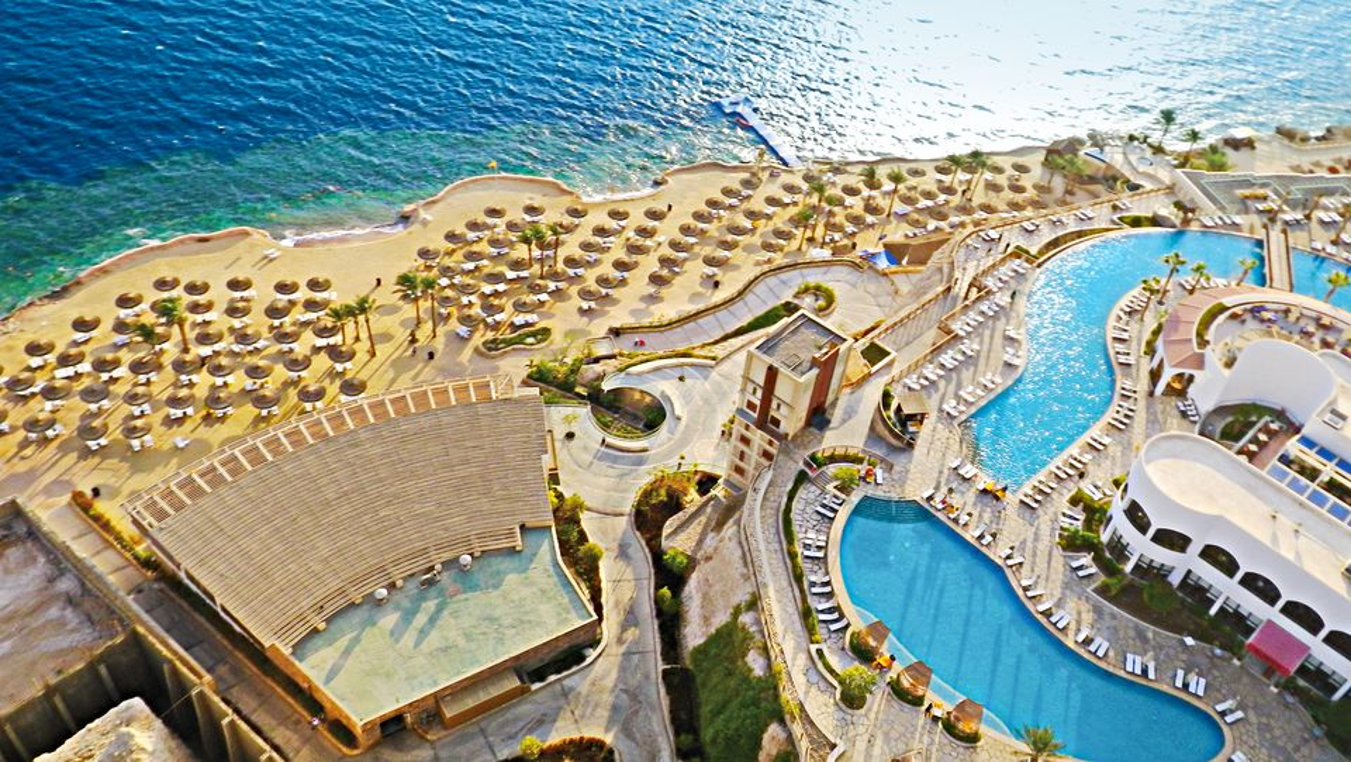 Hôtel reef oasis blu bay resort et spa 5*