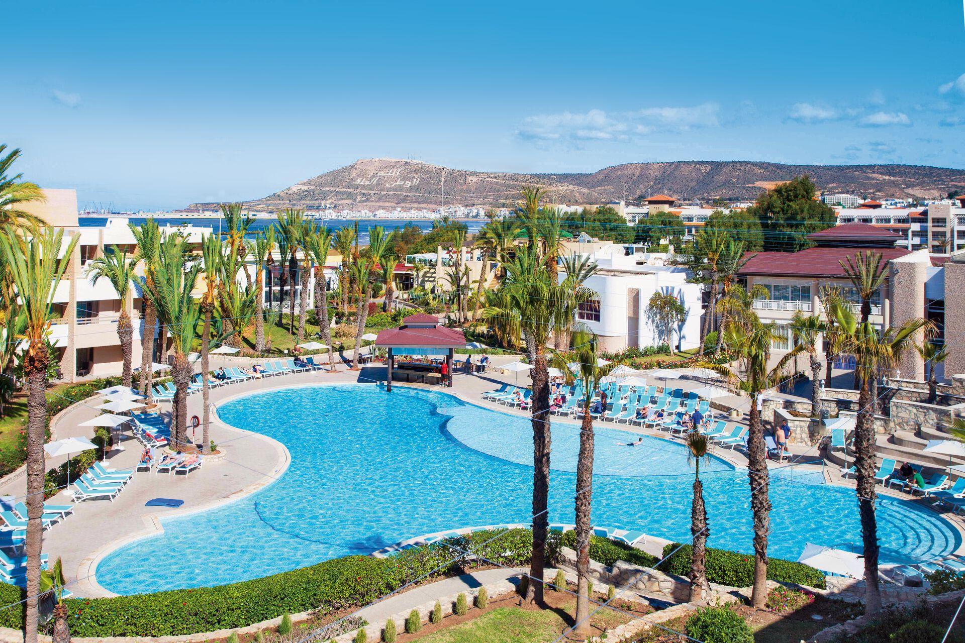 Club FTI Voyages Les Dunes d\'Or - chambre double coté piscine