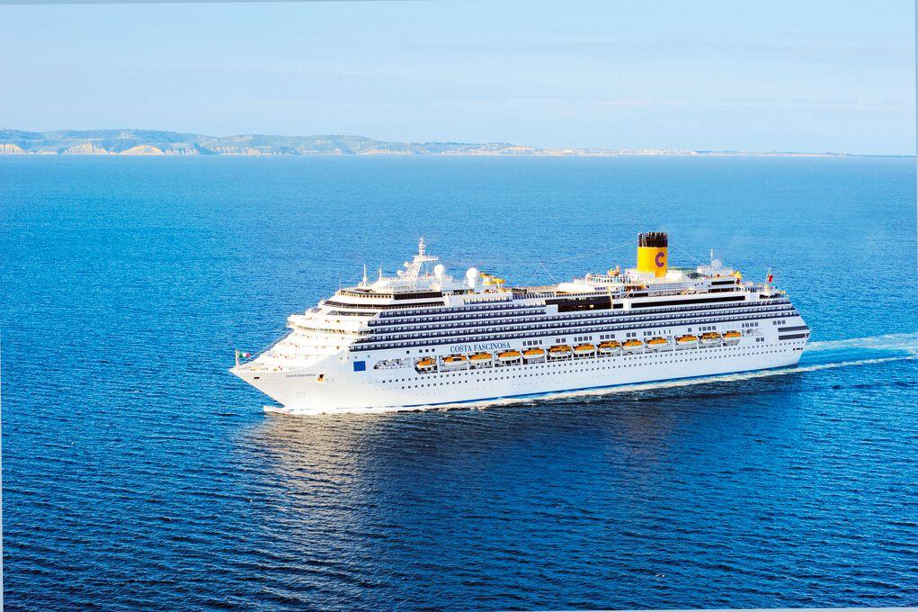 Costa Fascinosa - Transatlantik von Savona in die Karibik