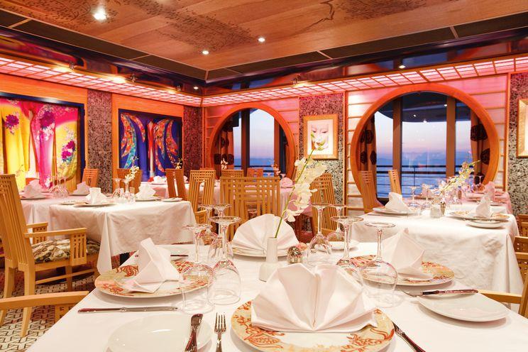 Costa Pacifica-Restaurant ©Costa