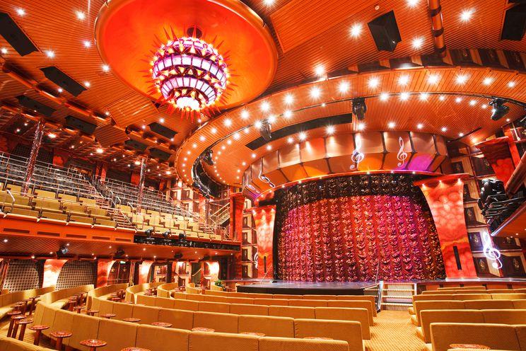 Costa Pacifica-Theater ©Costa