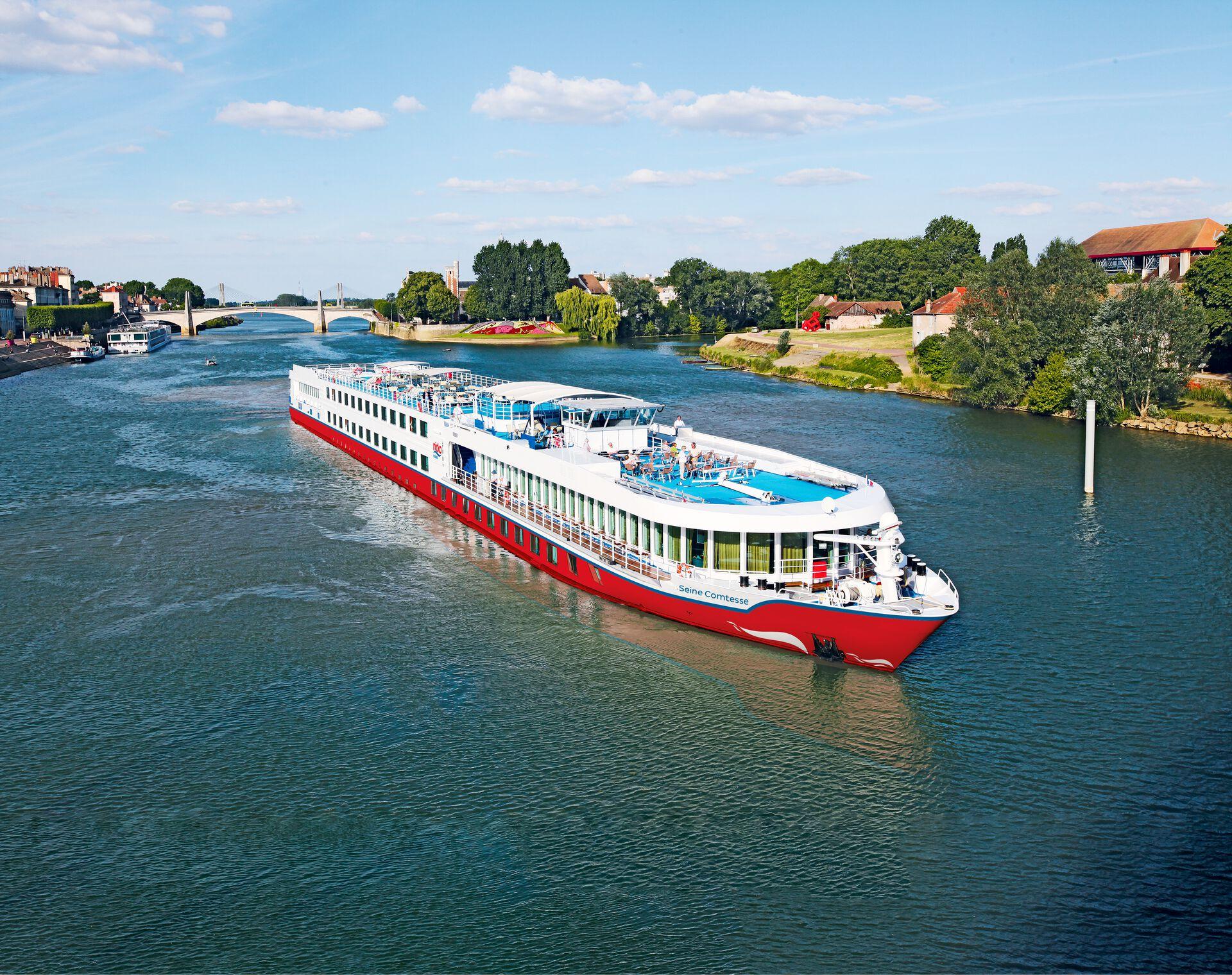 Seine Comtesse - Flusskreuzfahrt durch die Normandie