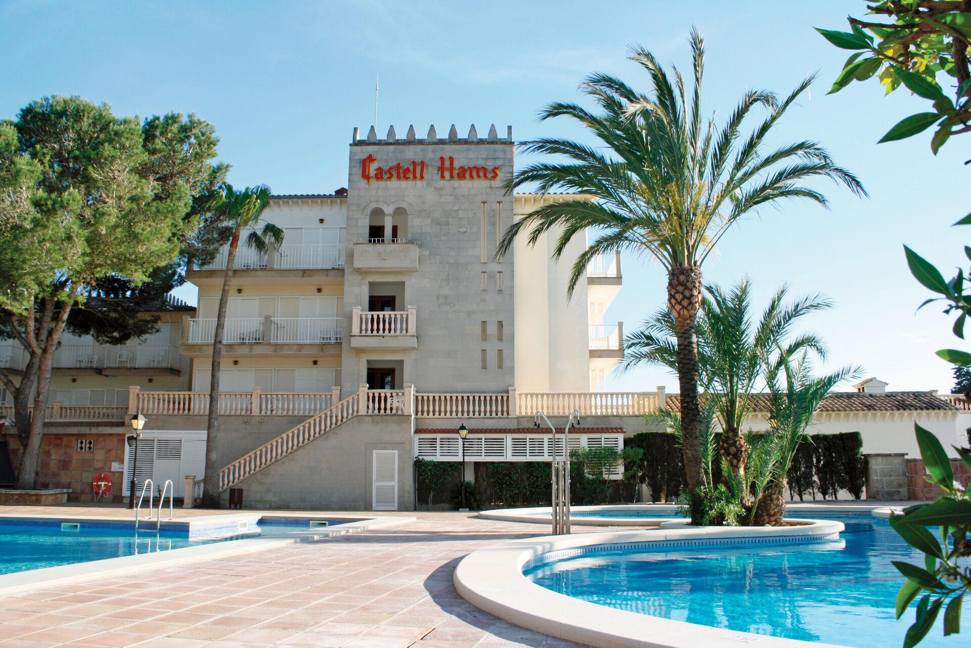 Club Castell dels Hams - chambre double