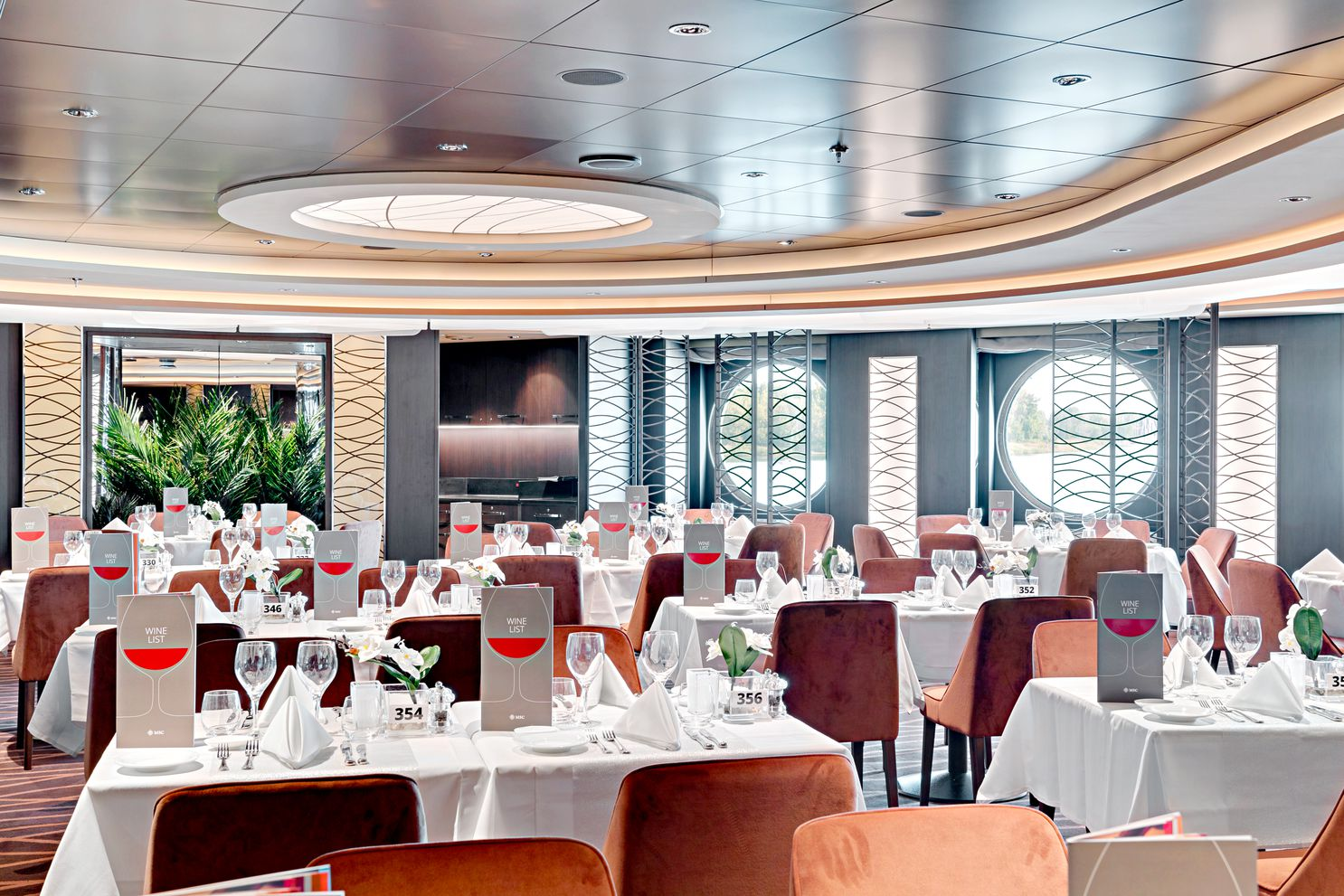MSC Seaview-Golden Sand Restaurant