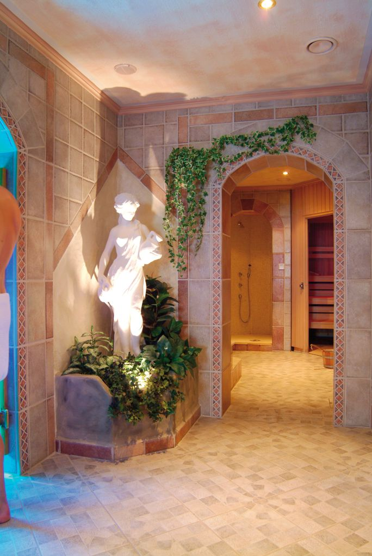 Wellnesbereich im Hotel Völserhof