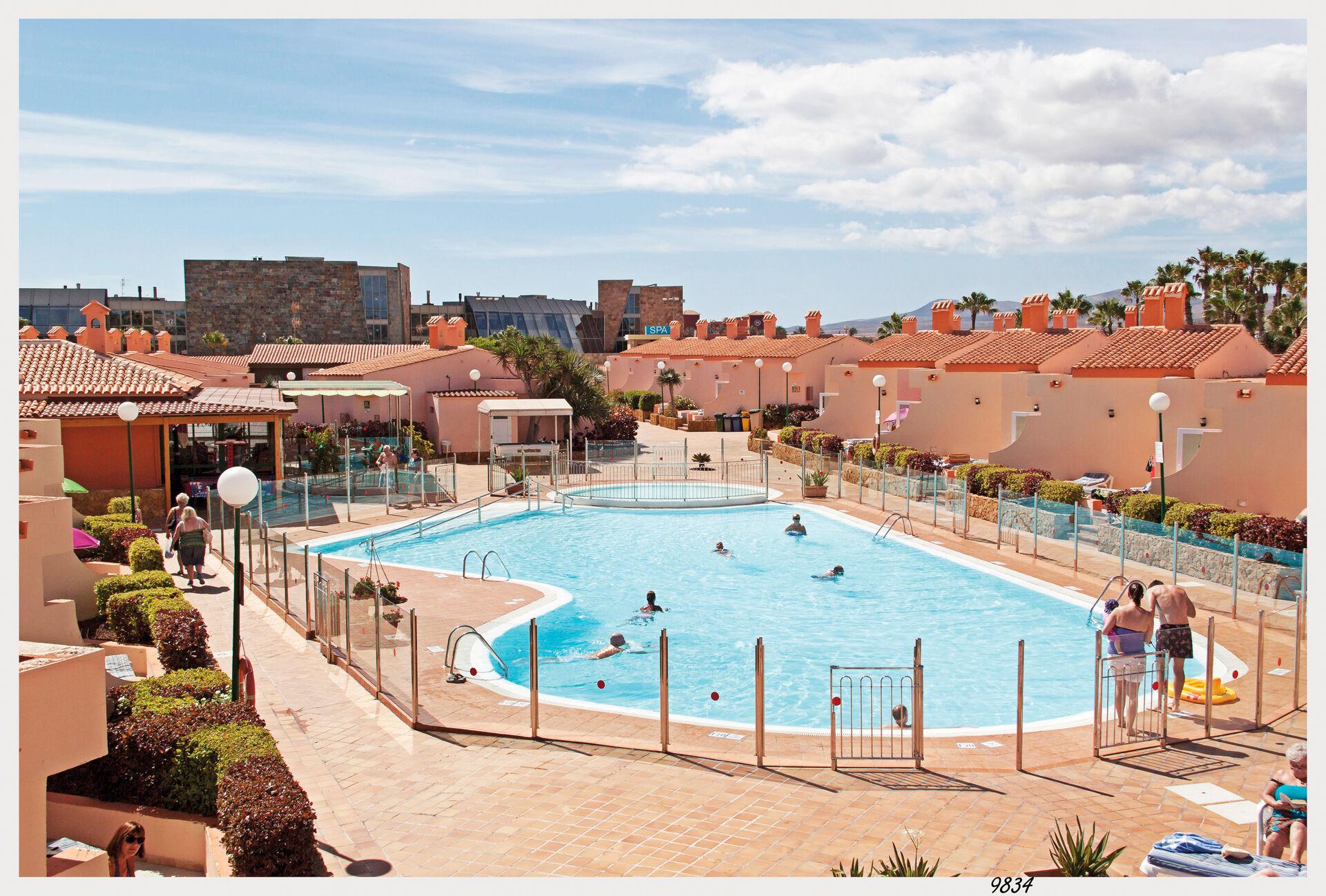 Canaries - Fuerteventura - Espagne - Hôtel Bungalows Castillo Playa 2*