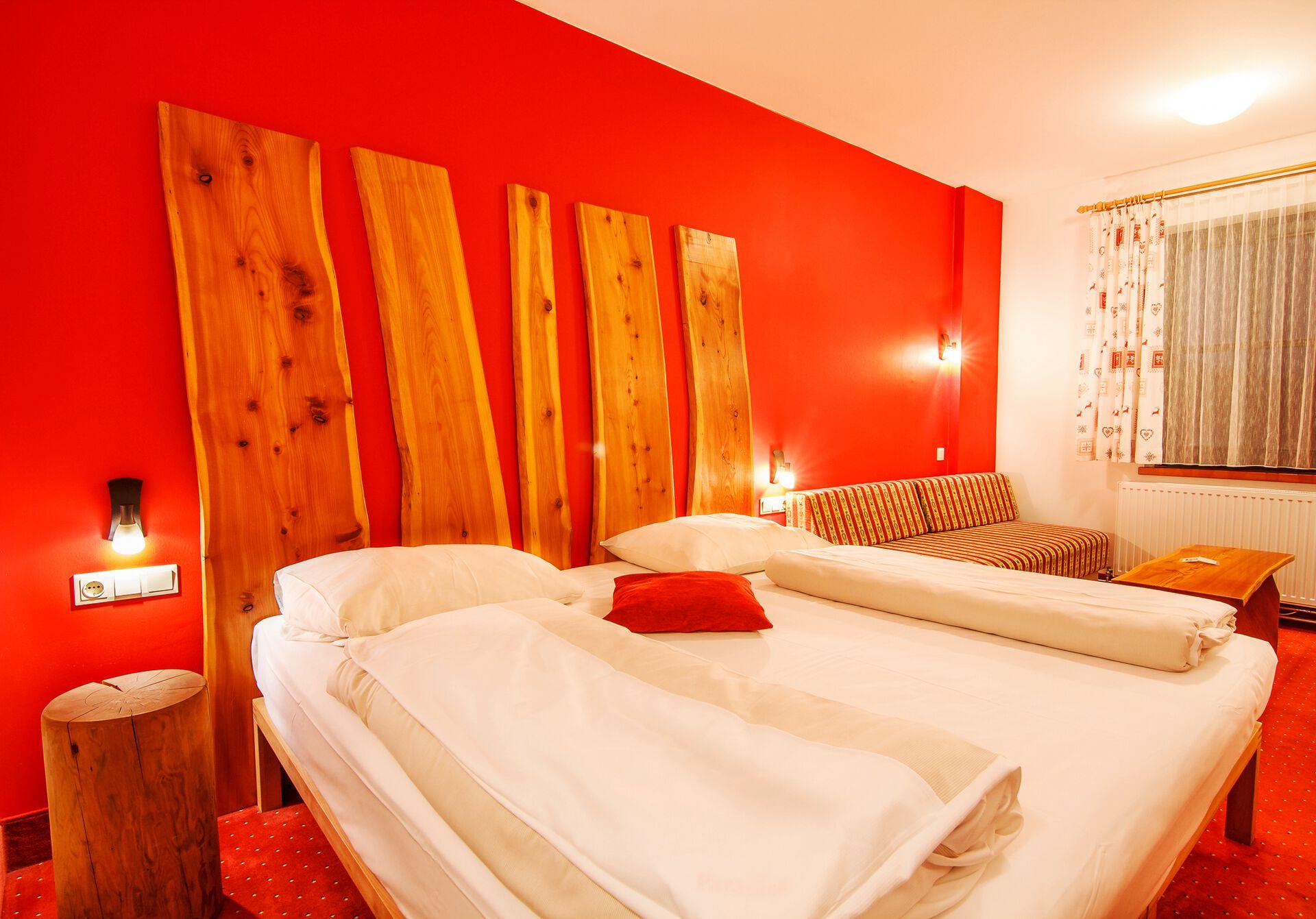 Wohnbeispiel im Alpenhotel Marcius