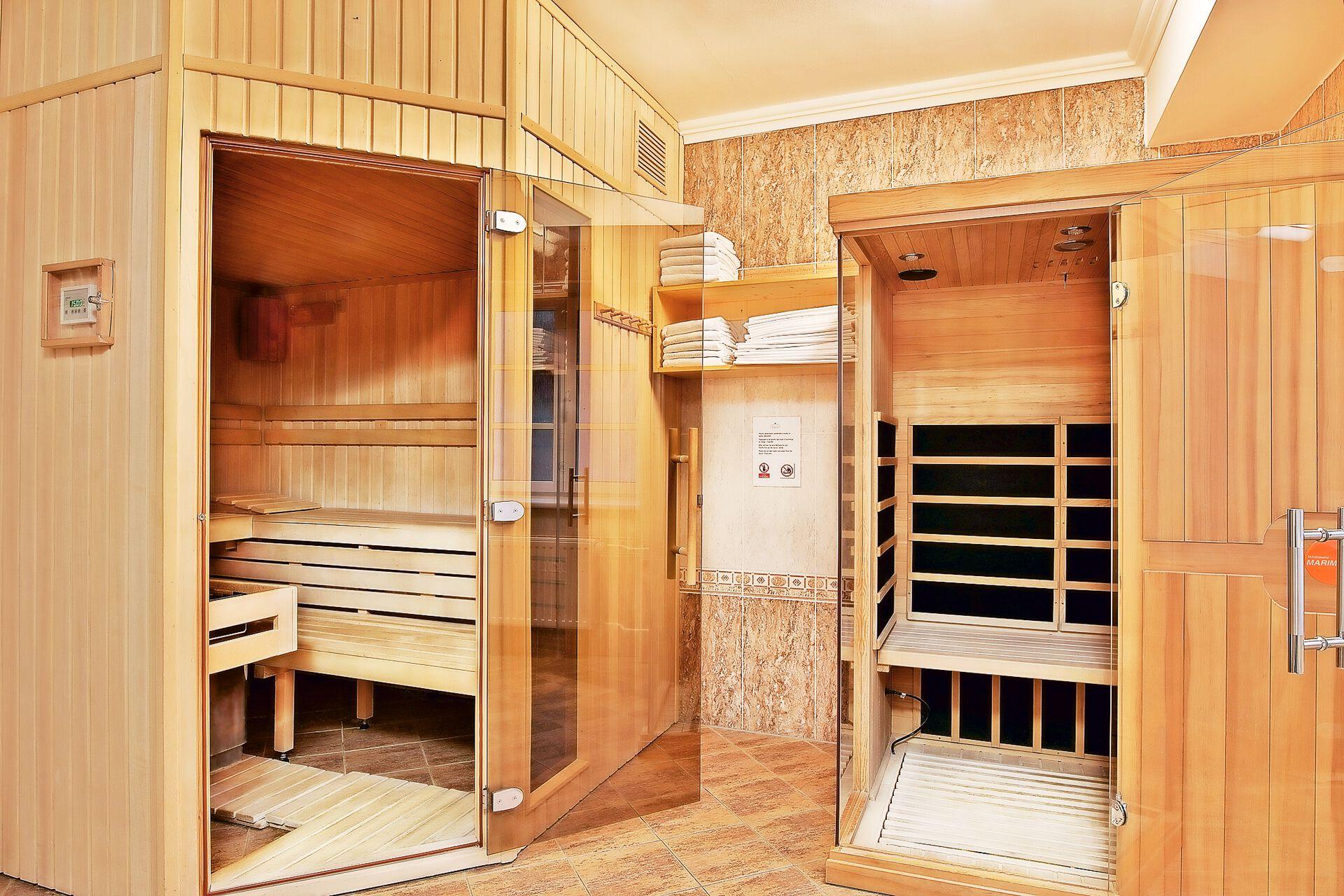 Wellnessbereich in Ihrem 4 Sterne Villa Savoy Spa Park Hotel