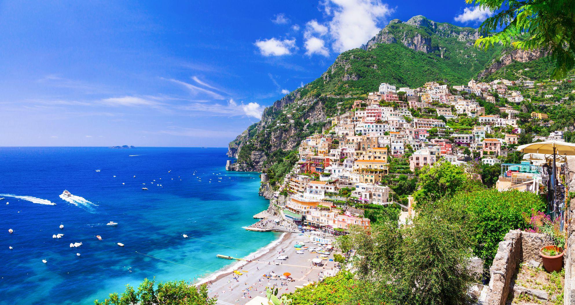Busrundreise Golf von Neapel und Amalfiküste