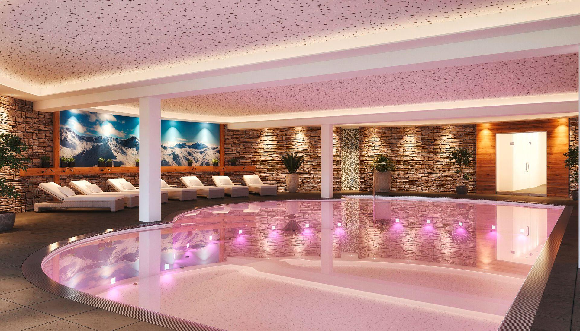 Wellnessbereich im Hotel Adapura
