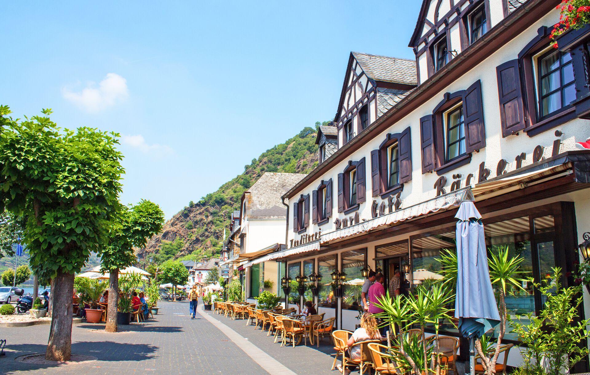 Moselhotel Burg-Café