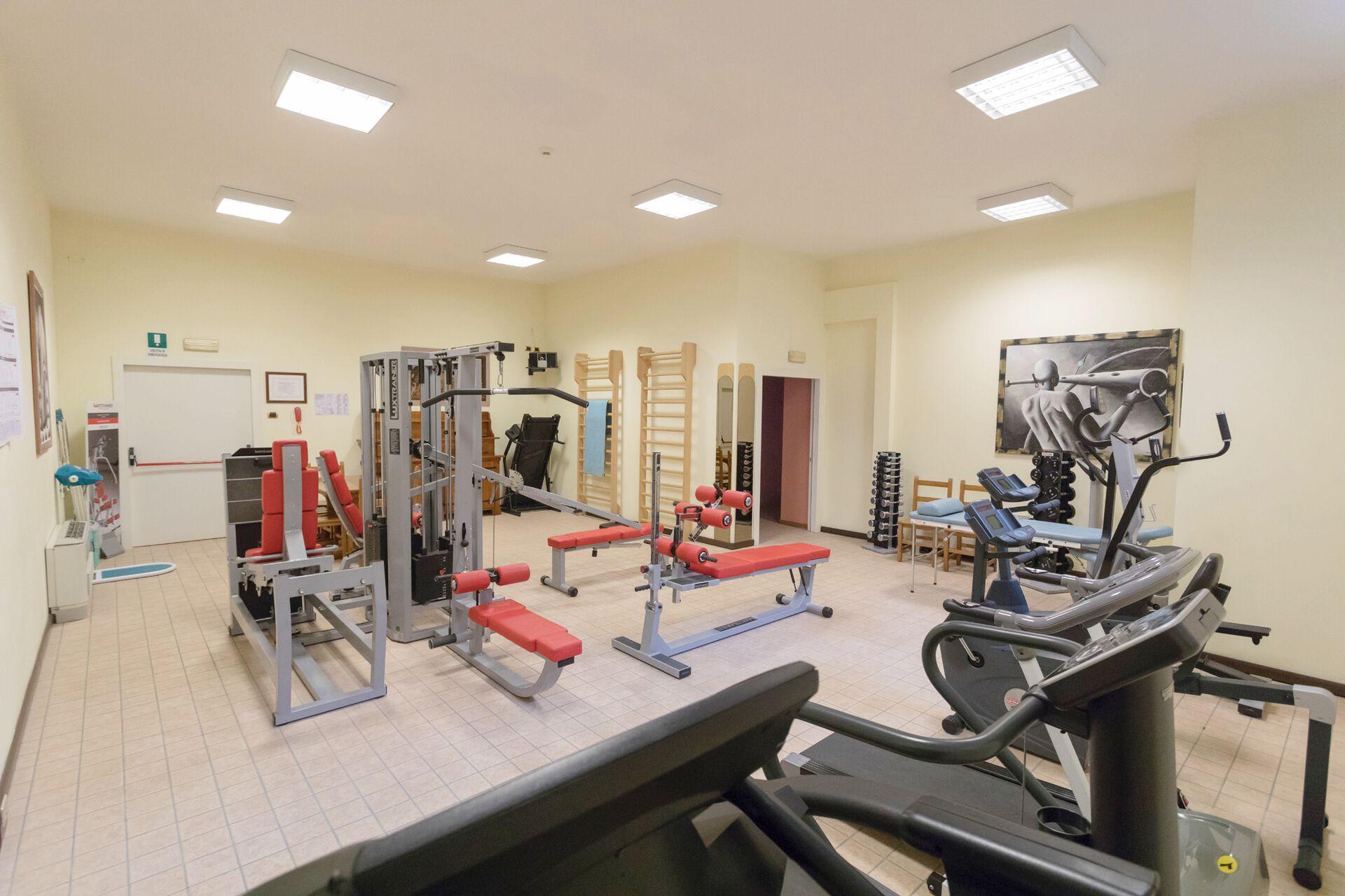 Fitnessstudio in Ihrem 3-Sterne-Hotel Belvedere