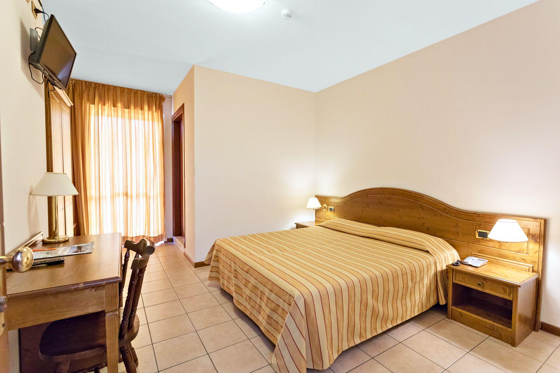 Wohnbeispiel Doppelzimmer Balkon in Ihrem 3-Sterne-Hotel Belvedere