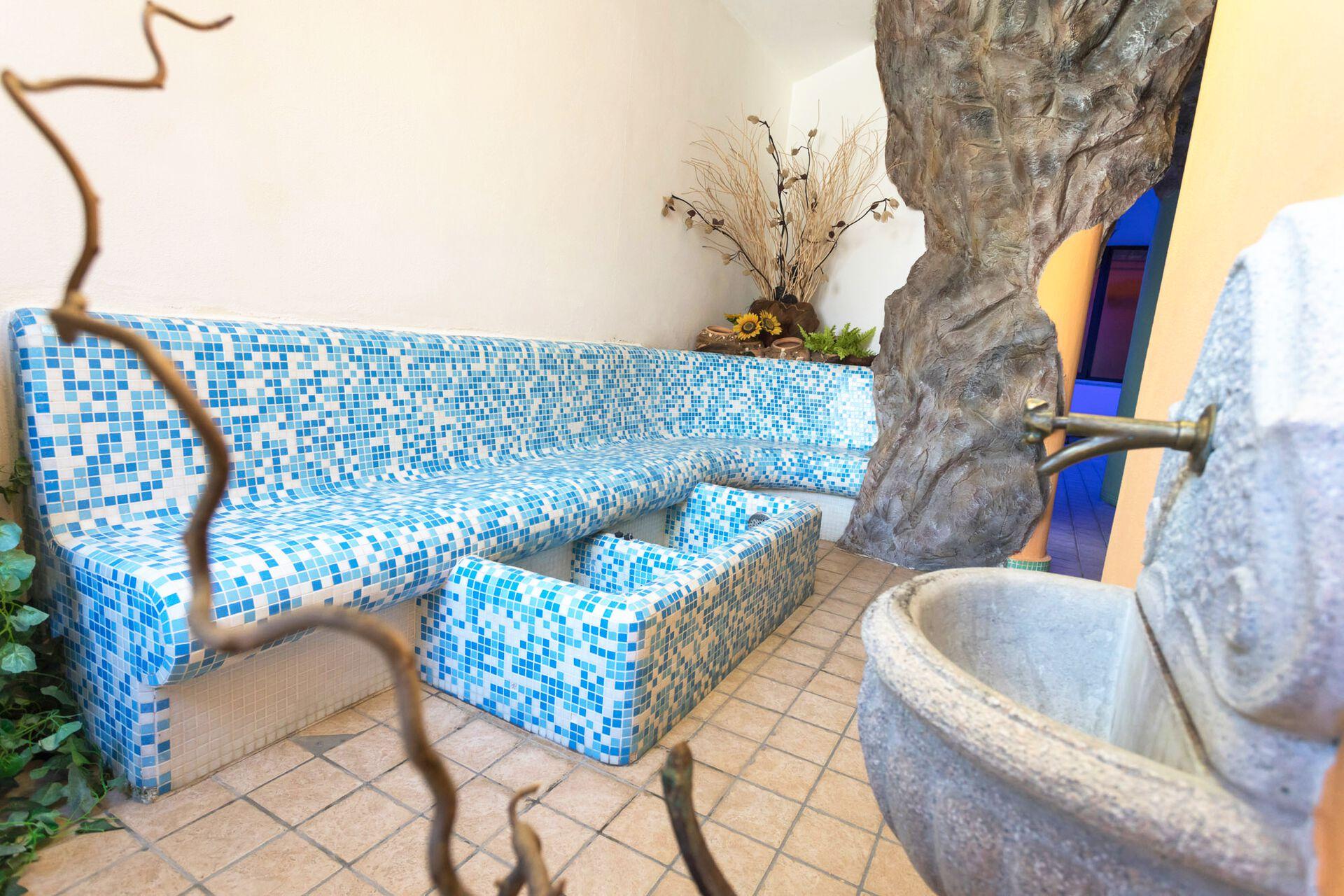 Wellnessbereich in Ihrem 3-Sterne-Hotel Belvedere