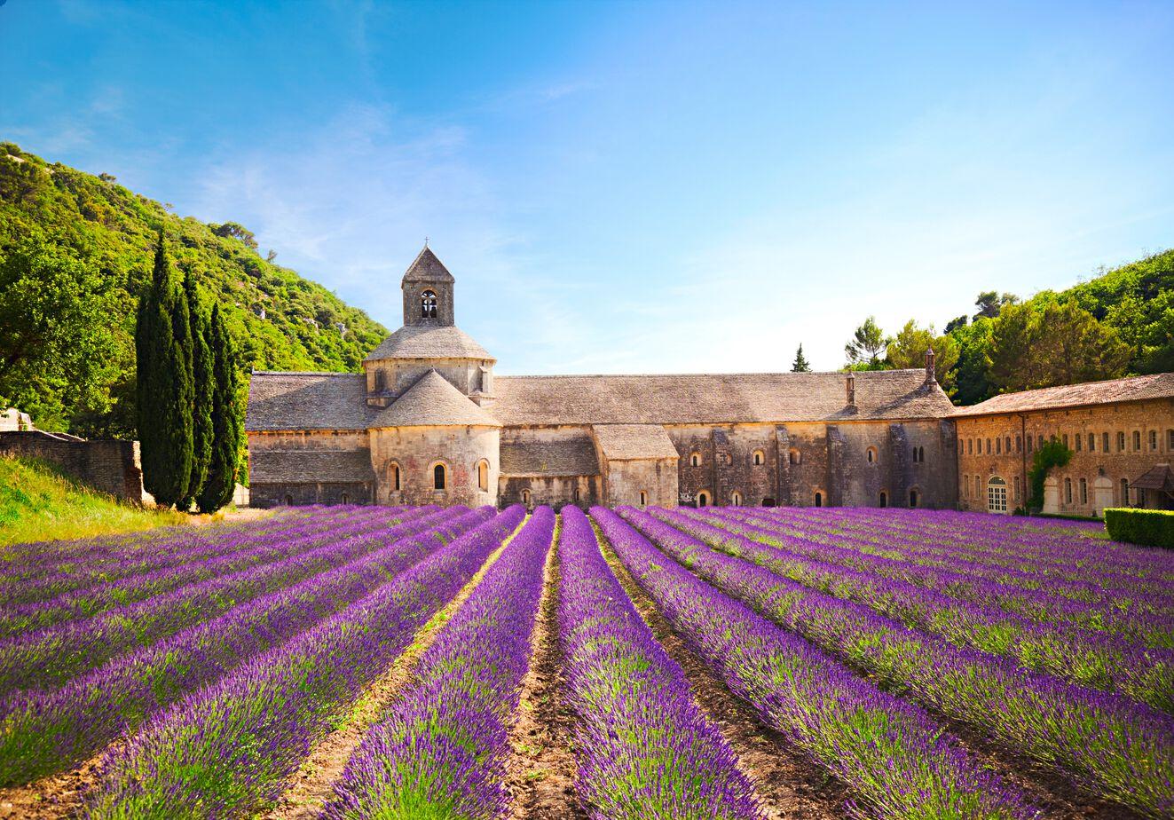 Provence Abtei von Sénanque