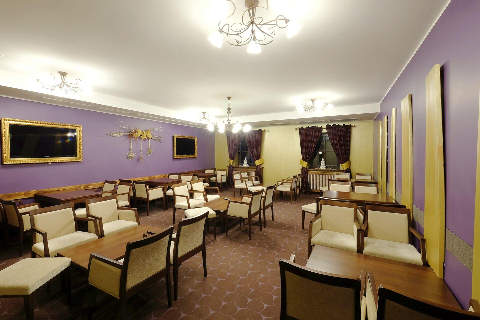 Restaurant im Alpenhotel Marcius