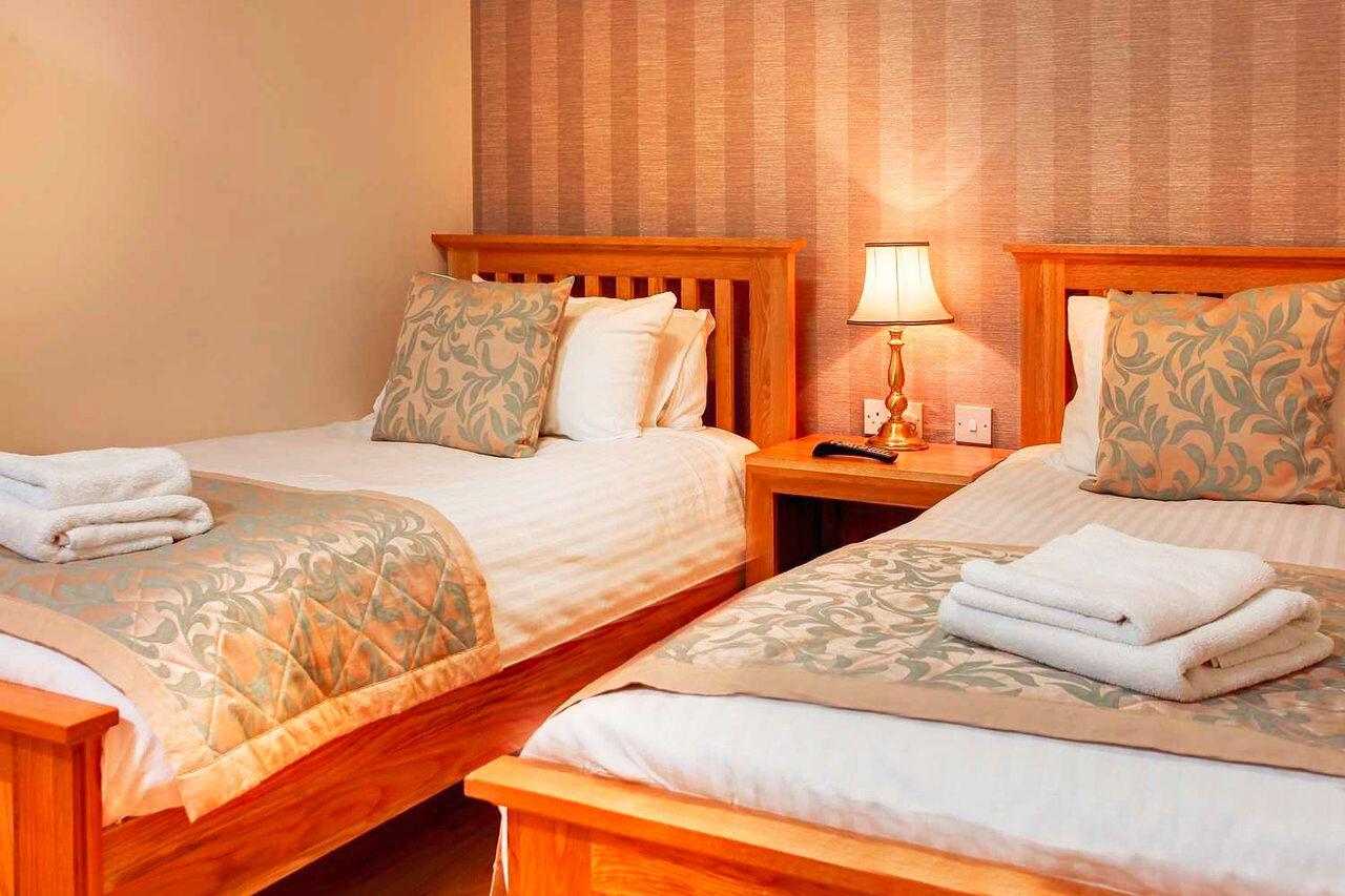 Wohnbeispiel im Hotel Best Western Manor