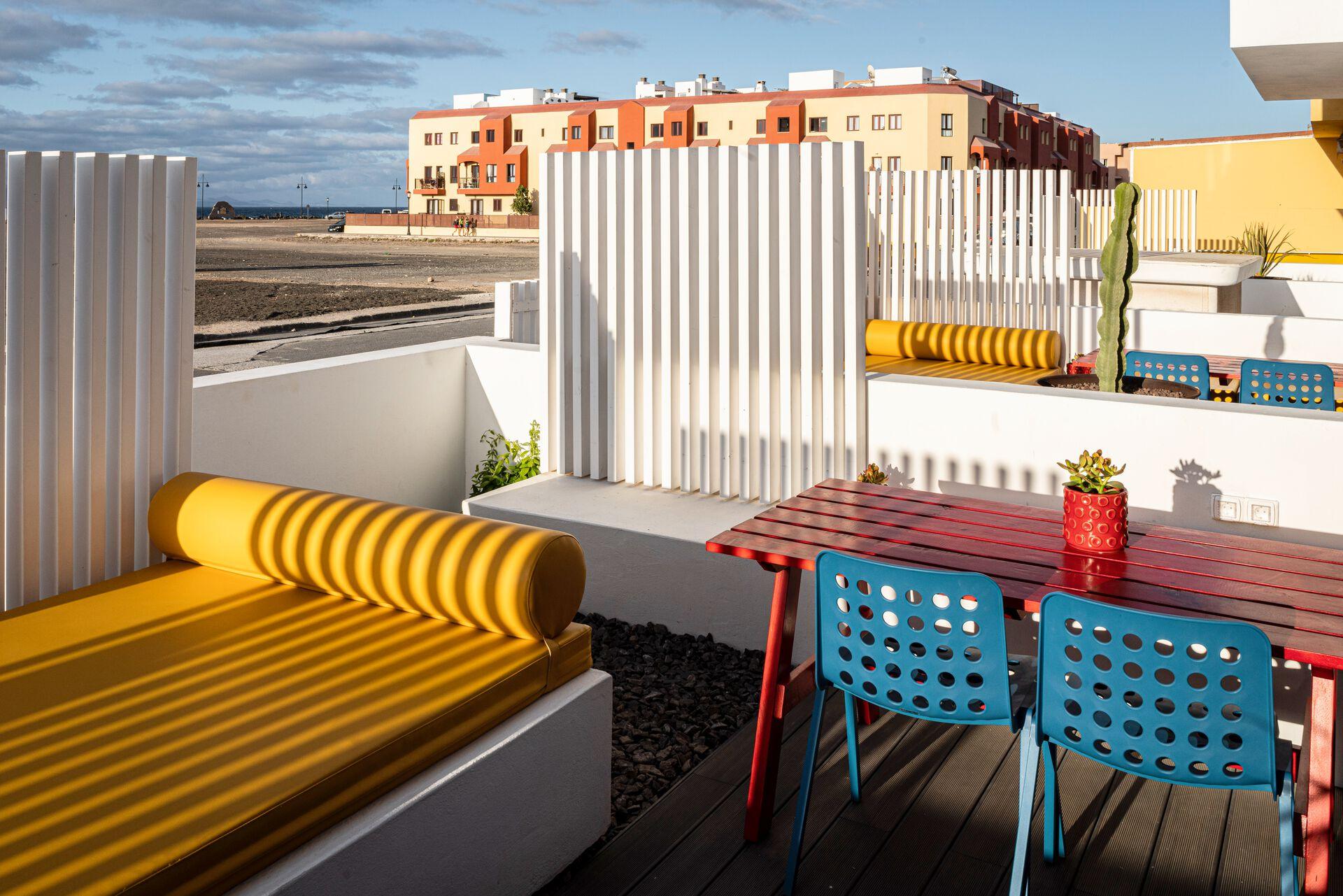 Canaries - Fuerteventura - Espagne - Hôtel Buendia Corralejo Nohotel