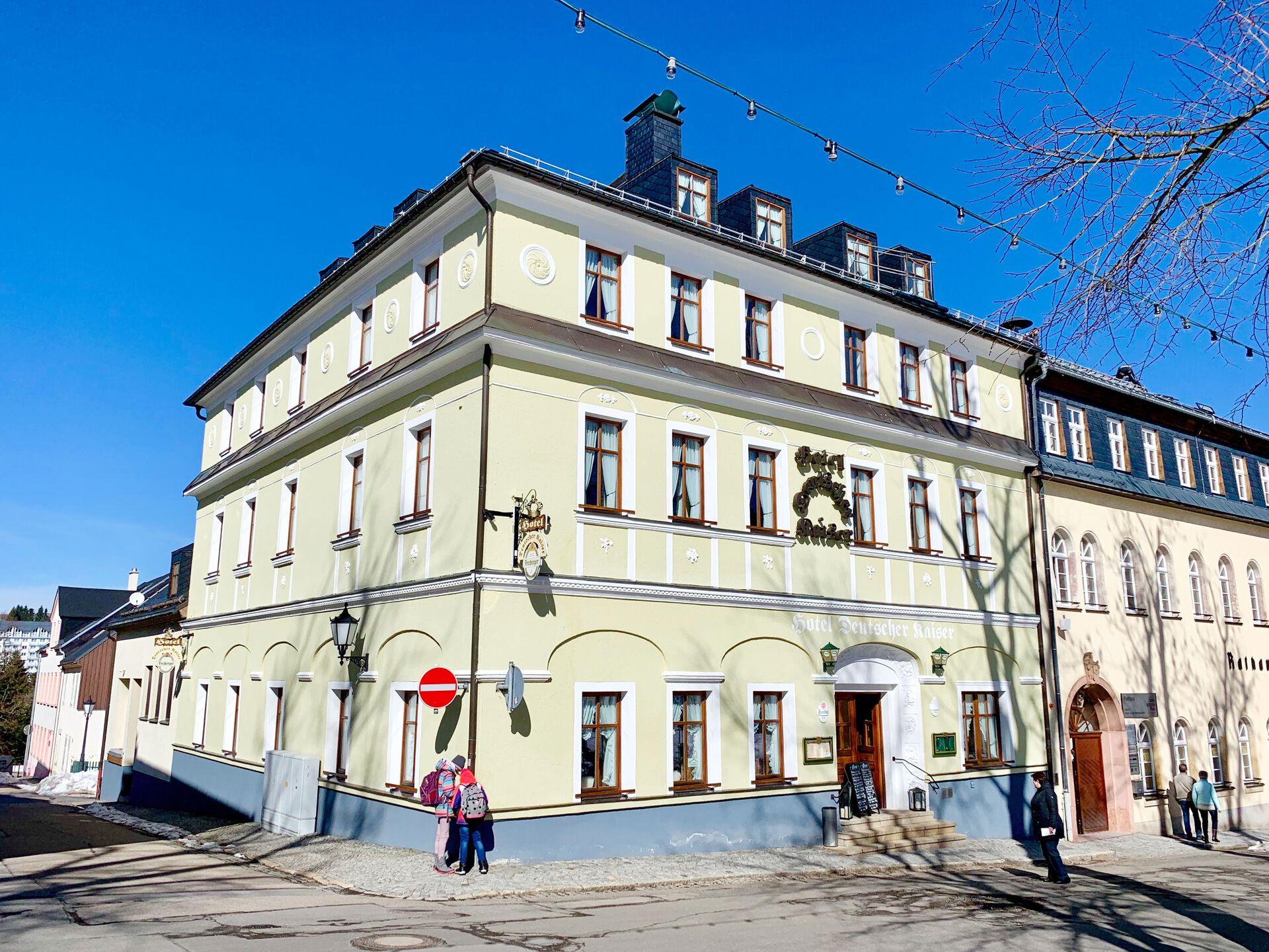 Aparthotel Deutscher Kaiser