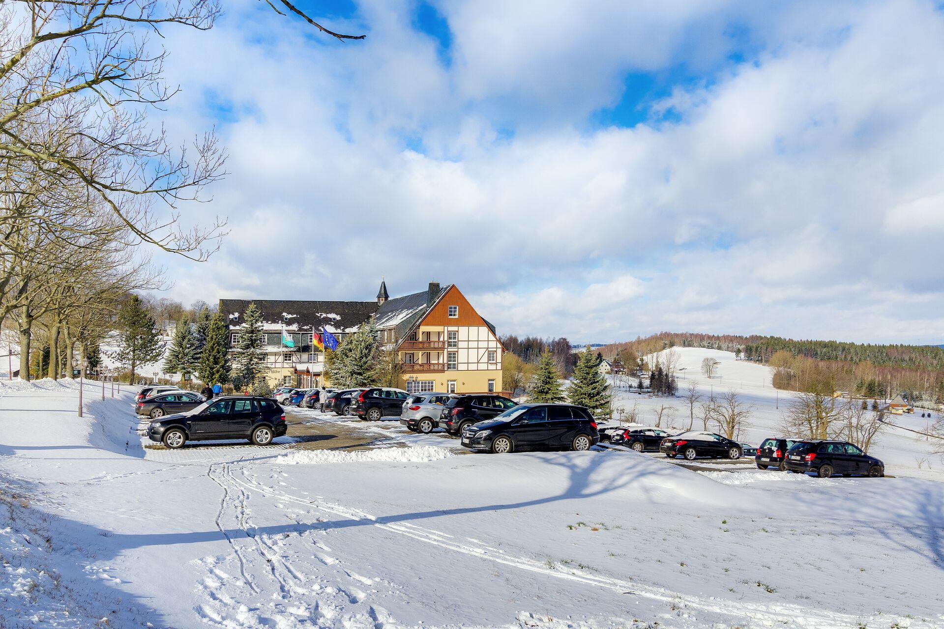 Panorama Berghotel Wettiner Höhe