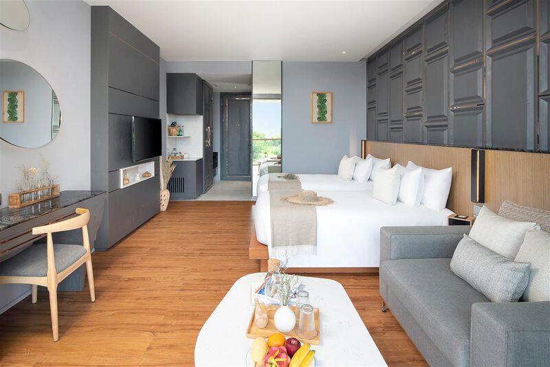 Wyndham Grand Nai Harn Beach Phuket - Wohnbeispiel Doppelzimmer Deluxe