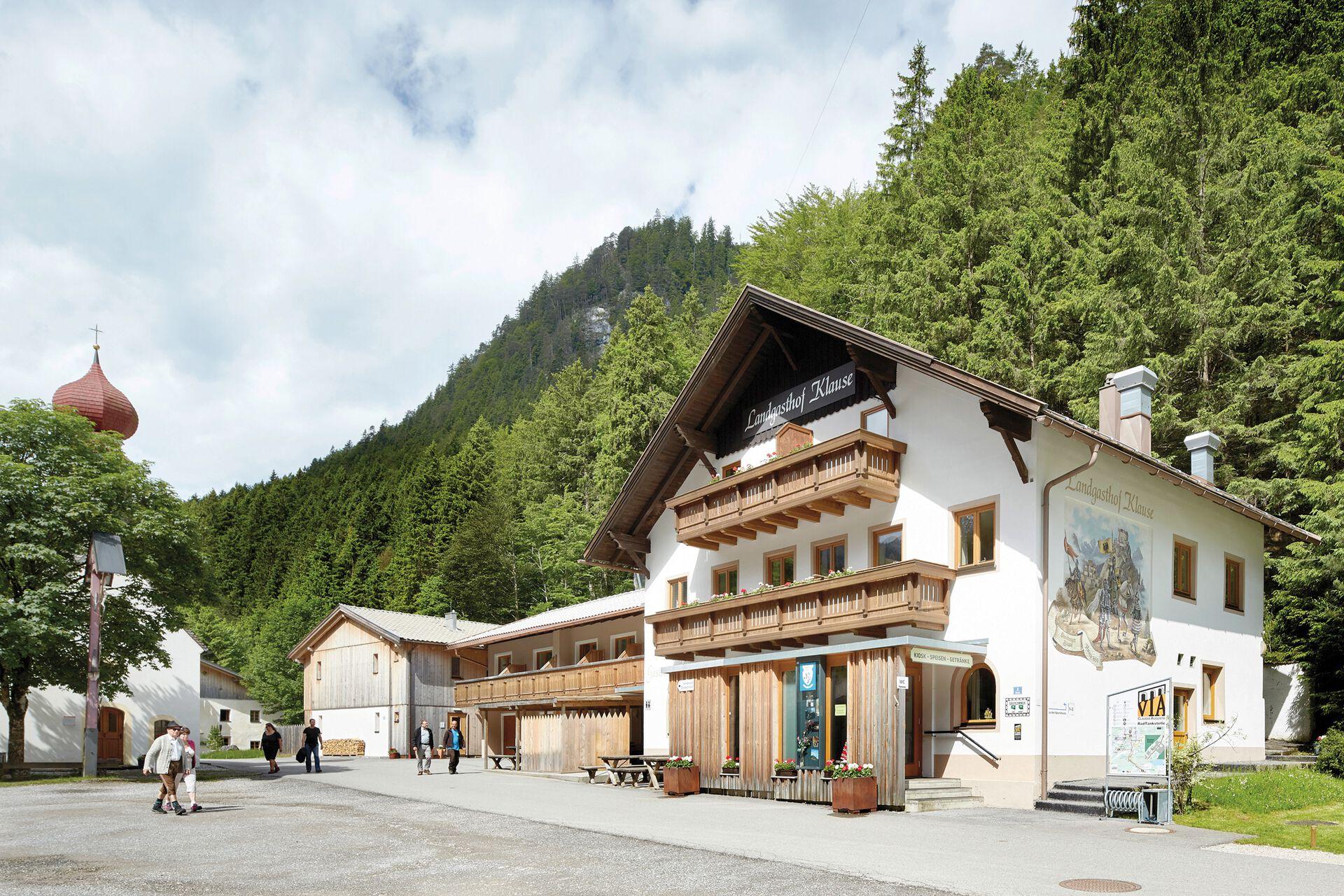 Burgenwelt Ehrenberg Hotel Gasthof Klause