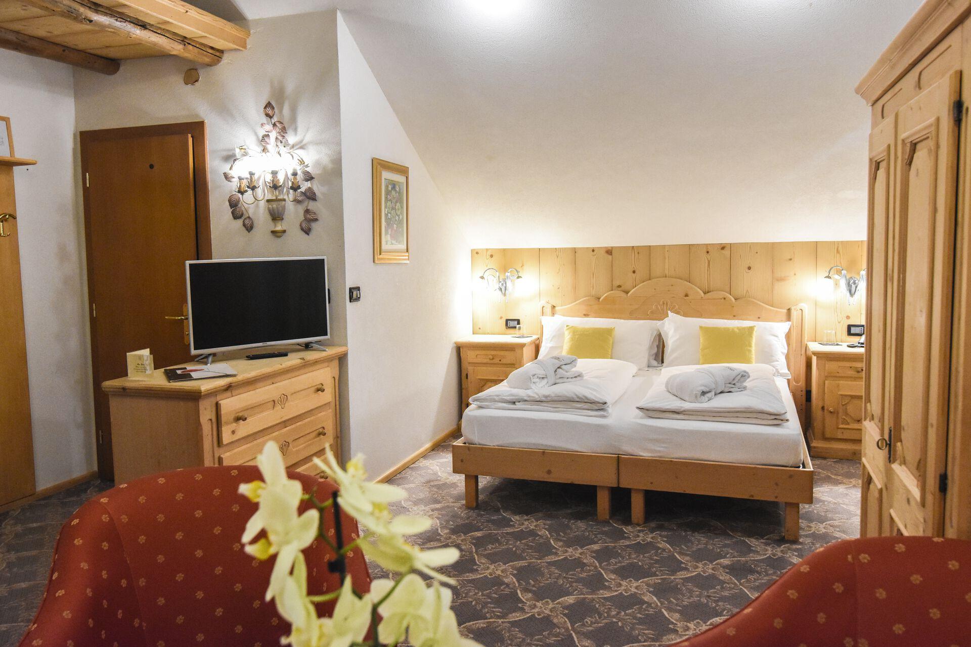 Zimmerbeispiel in Ihrem Beispielhotel Relais Grünwald