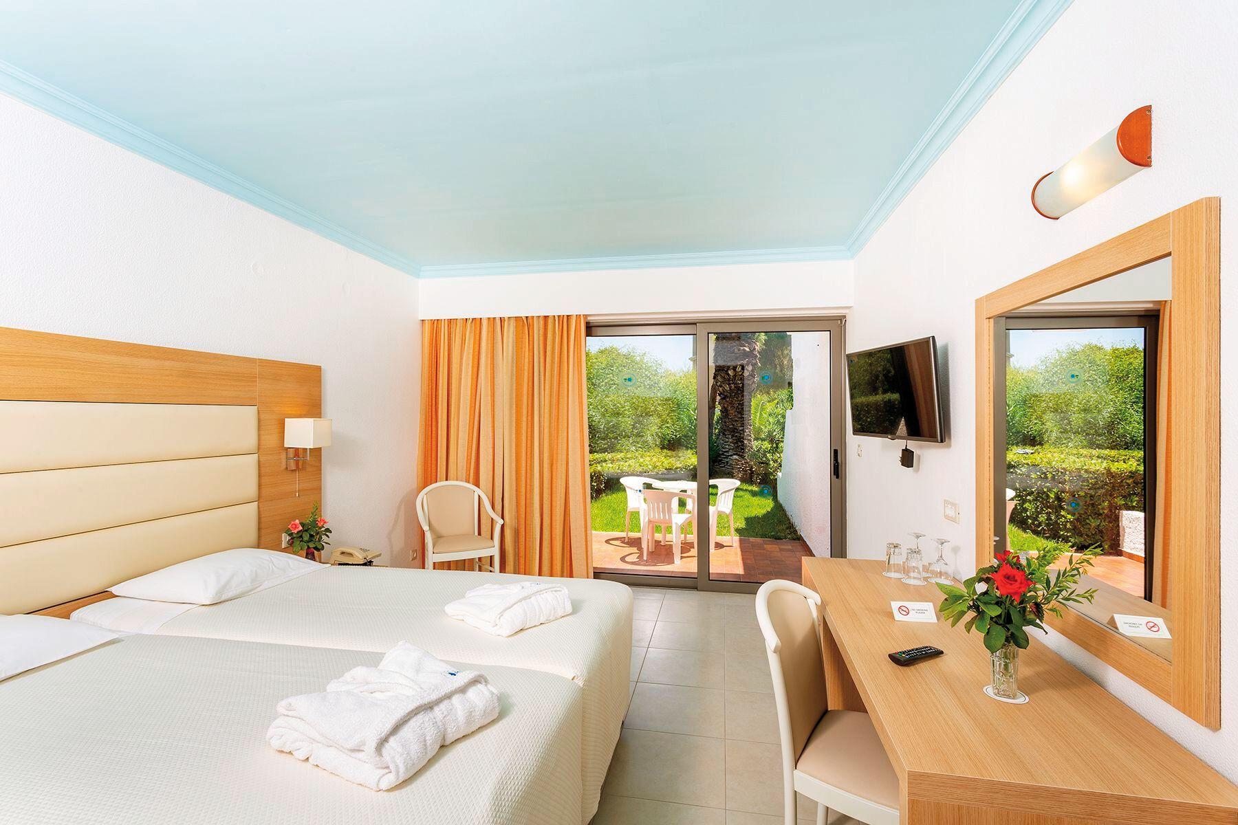 Ihr Wohnbeispiel Bungalow (1 Schlafzimmer) Gartenseite in Ihrem 4-Sterne-Hotel Blue Horizon