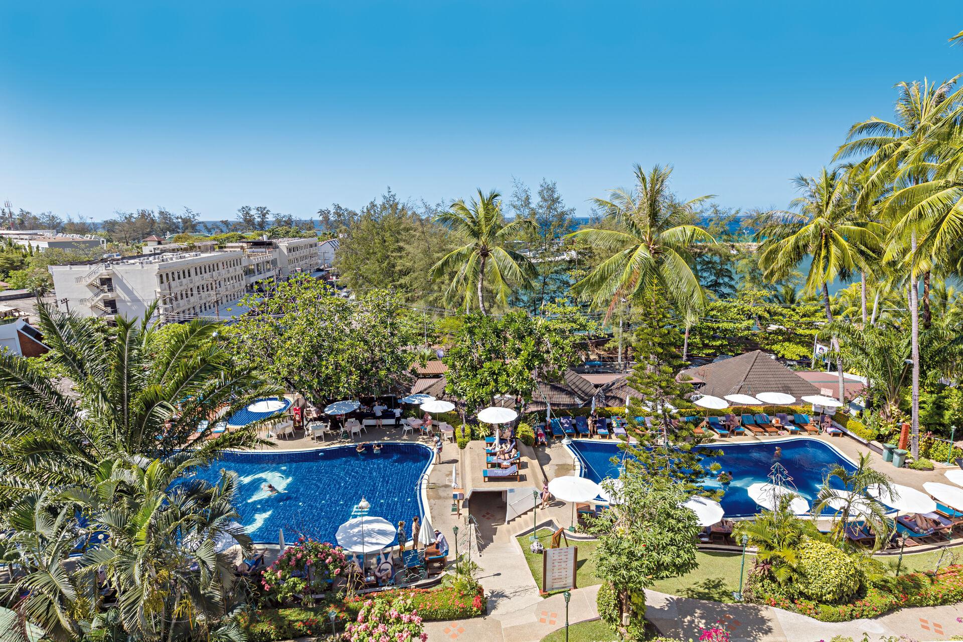 Hôtel Best Western Phuket Ocean Resort 3*