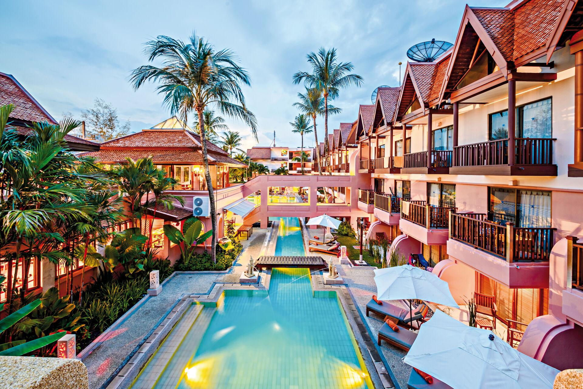 Seaview Patong Hôtel - chambre double supérieure