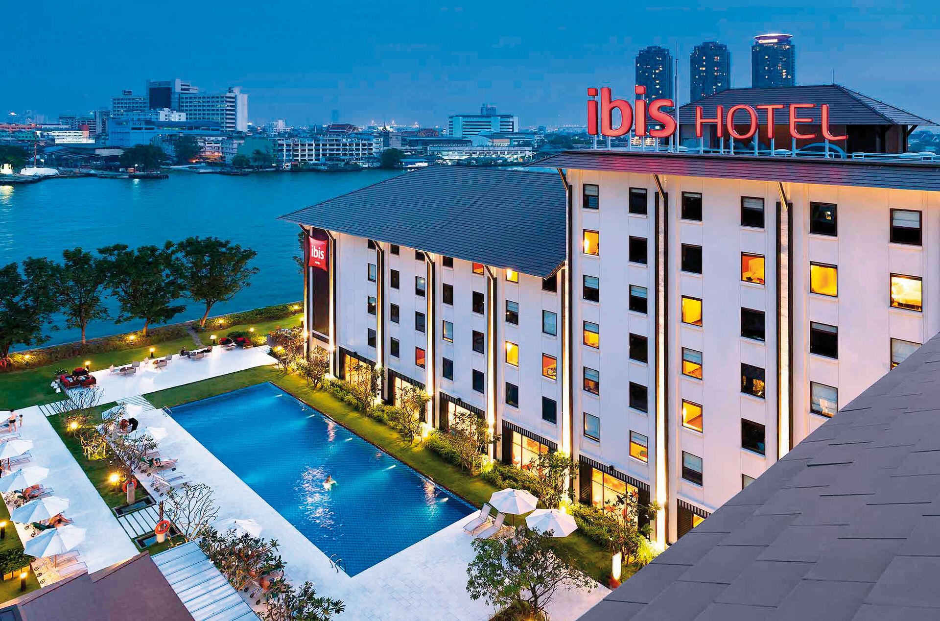 Ibis Bangkok Riverside - chambre double
