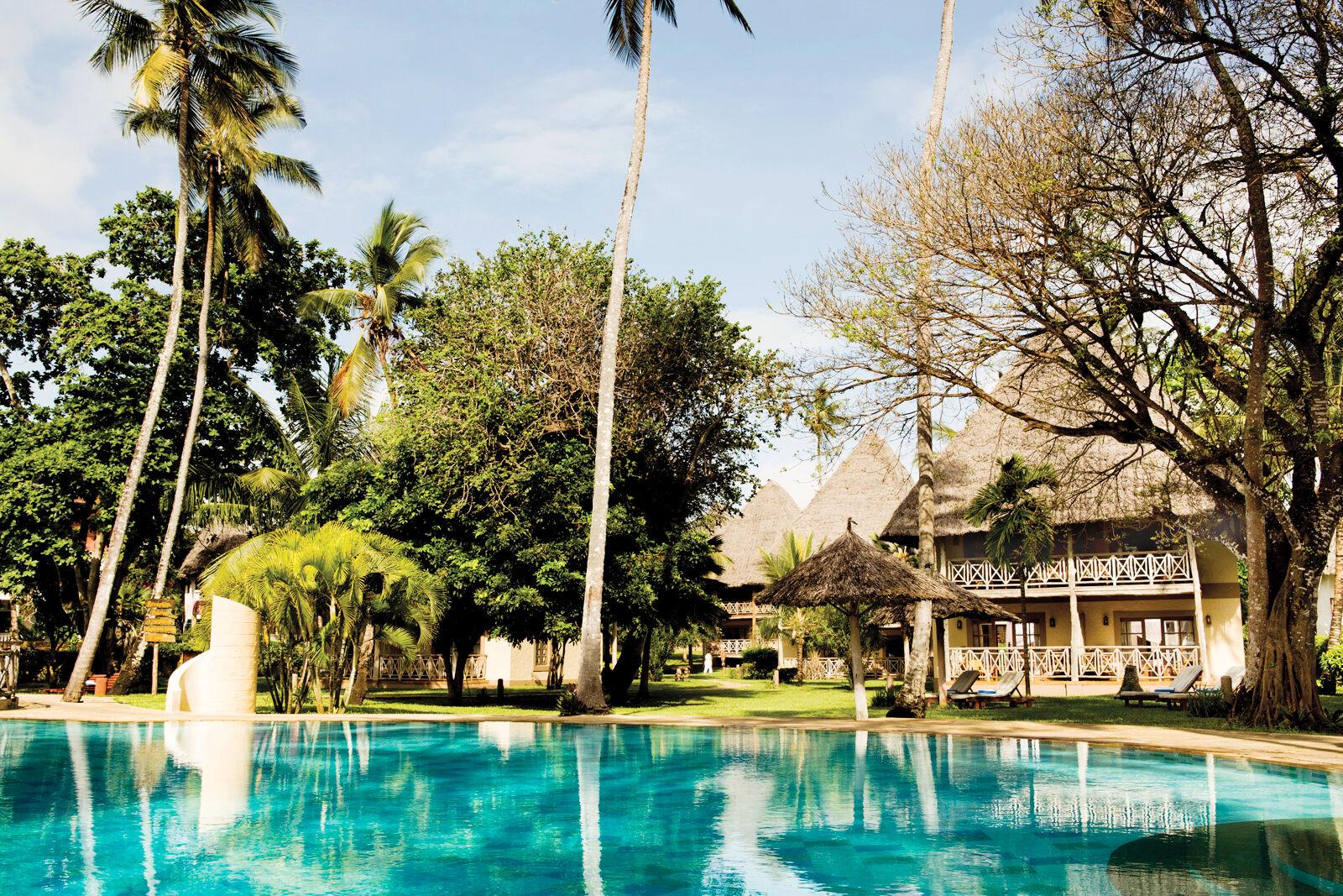 Neptune Palm Beach Boutique Resort & Spa - chambre double deluxe côté jardin