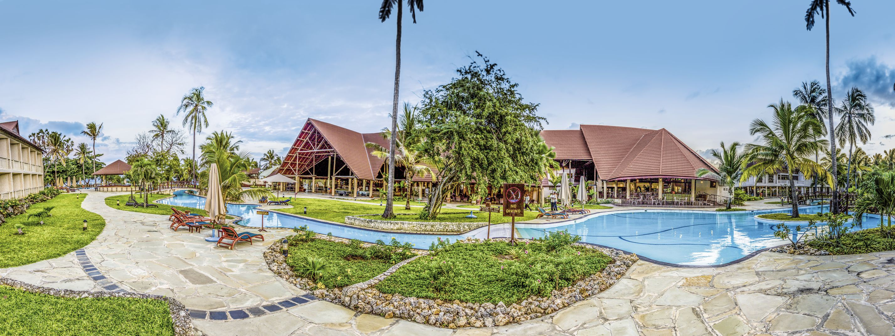 Amani Tiwi Beach Resort - chambre double low cost