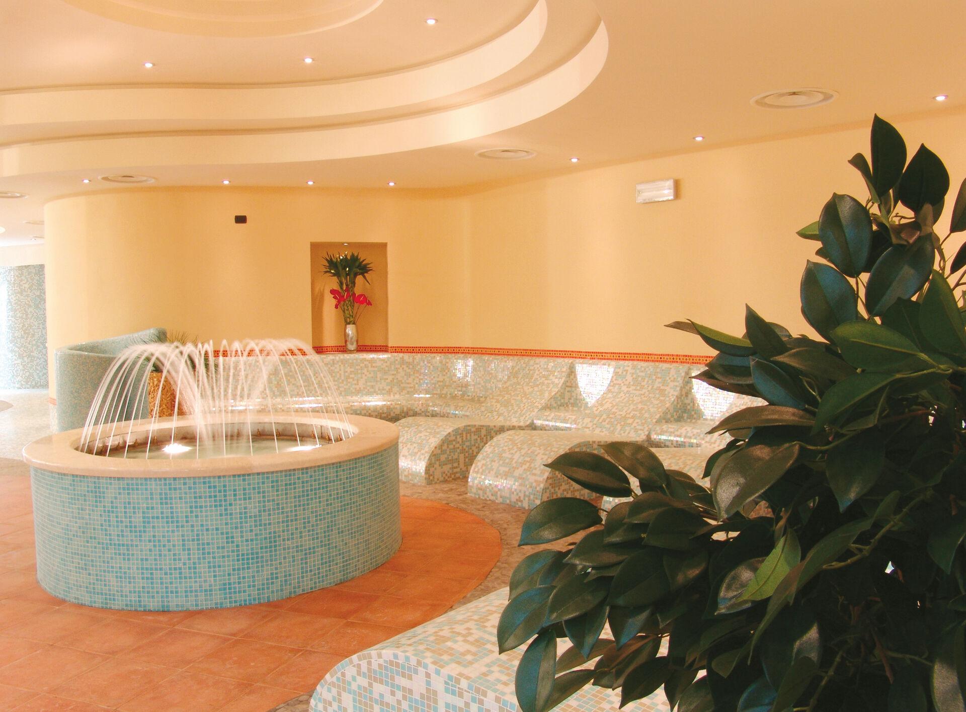 Wellnessbereich in Ihrem 4-Sterne-Active Hotel Paradiso & Golf