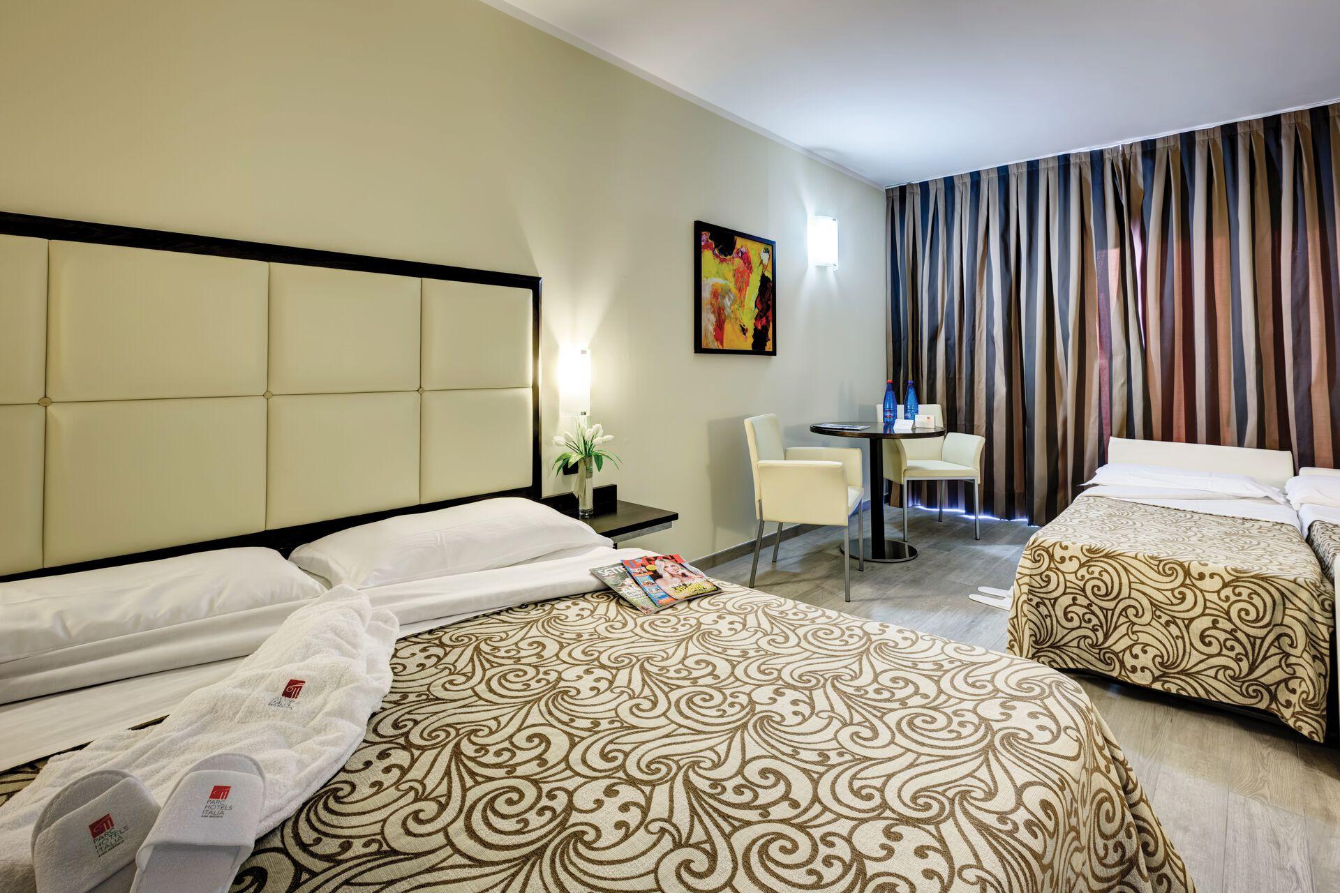 Wohnbeispiel Doppelzimmer Balkon/Terrasse in Ihrem 4-Sterne-Parc Hotel
