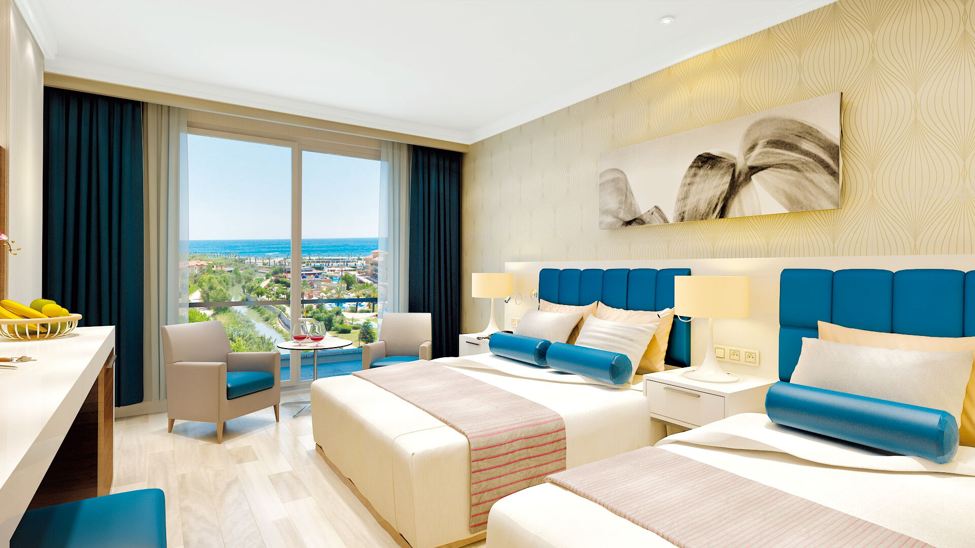 Turquie - Side - Hôtel Luna Blanca Resort & Spa 5*