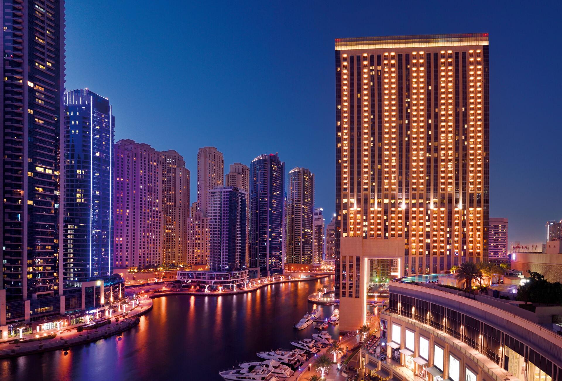 5* Address Dubai Marina & 5* InterContinental Al Mina Al Arab Ras Al Khaimah