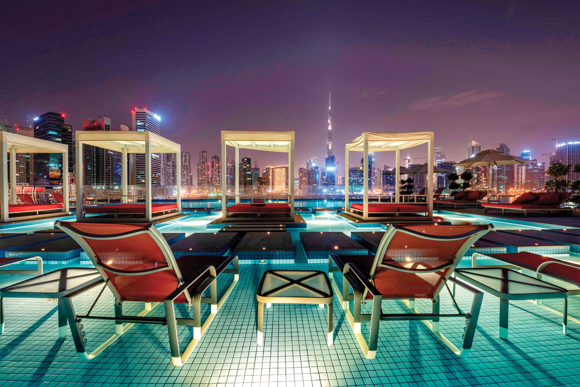 Emirats Arabes Unis - Dubaï - Hôtel Canal Central Business Bay 5*