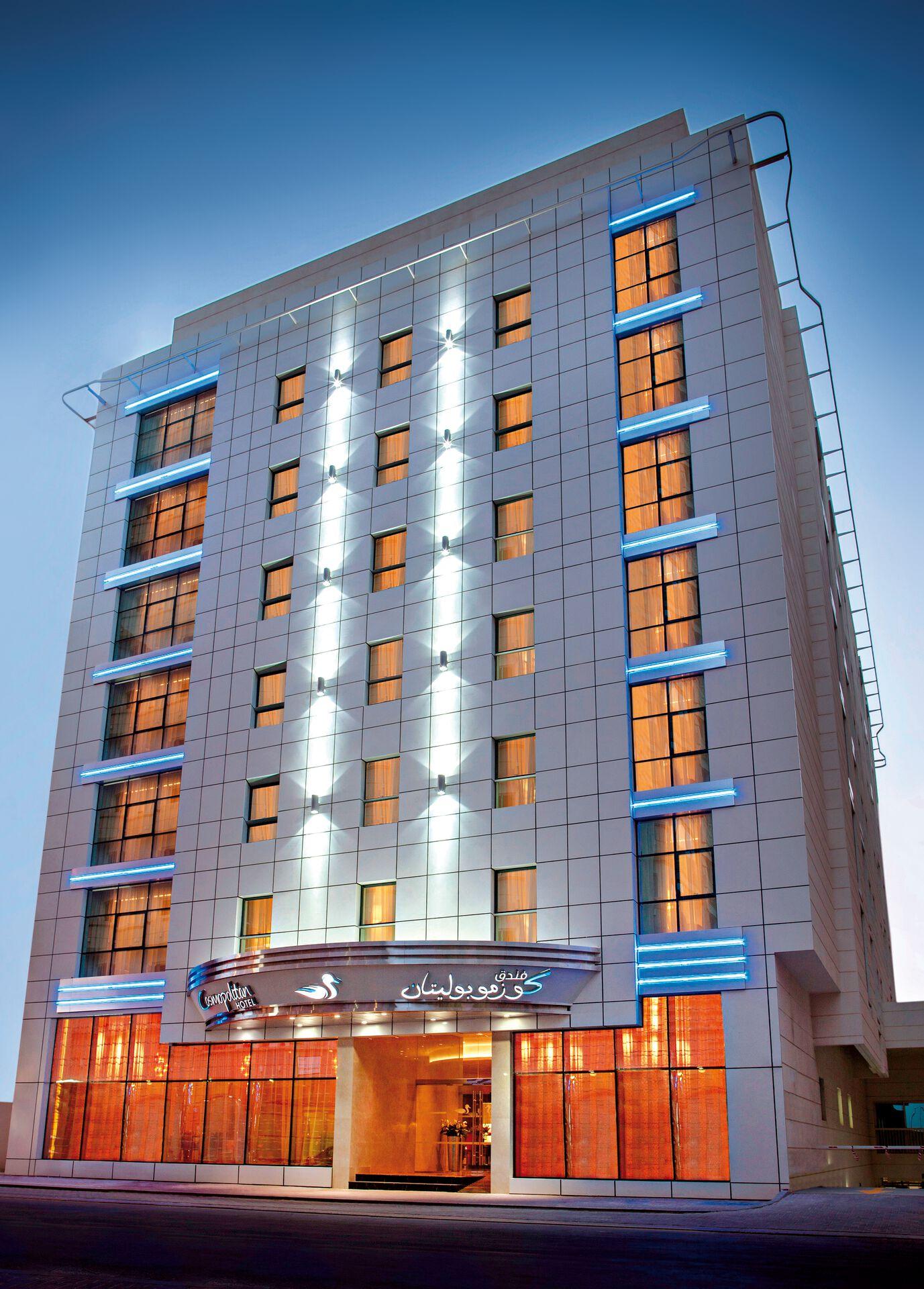 Cosmopolitan Hotel Dubai - chambre double deluxe